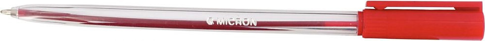 Stylo bille Micron pointe moyenne 1mm rouge