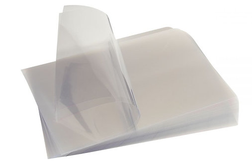 Paquet de 100 couvertures cristal BUSINESS incolores, ép.20/100ème format A3