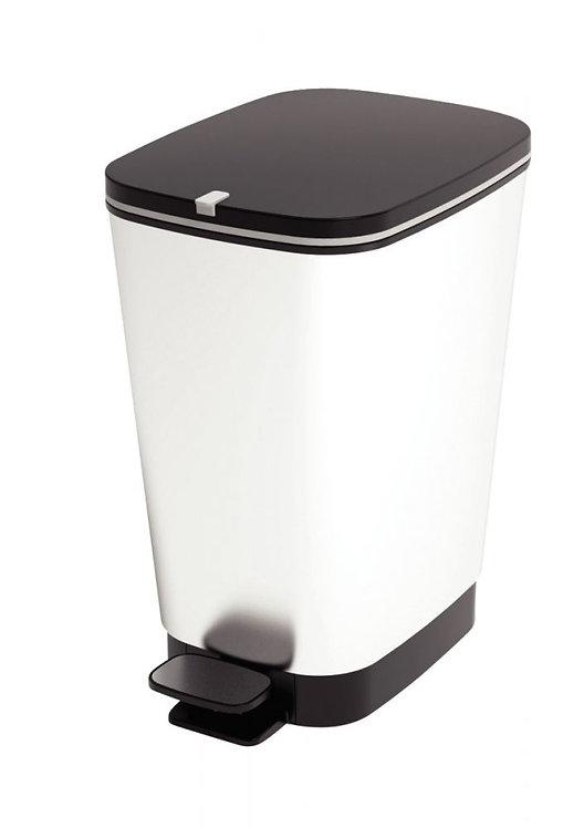Poubelle pédale plastique 45 litres gris