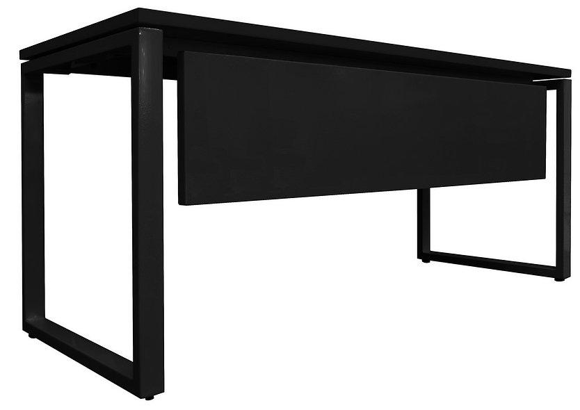 Table de bureau Bip - Plan droit avec voile fond