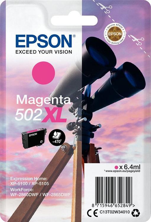 Cartouche jet d'encre à la marque Epson T02W340 magenta haute capacité