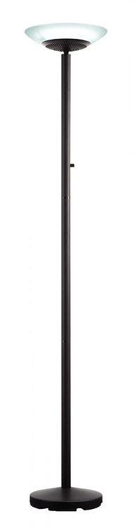 Lampadaire à LED Paris noir