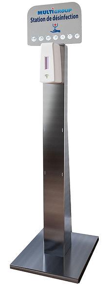 Colonne avec distributeur infrarouge - TOTEM