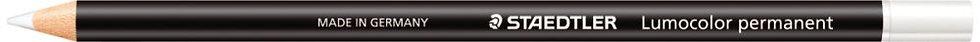 Boîte de 12 crayons Glasochrom blanc