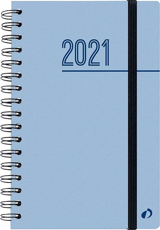 Agenda Oslo 10 x 15 cm bleu
