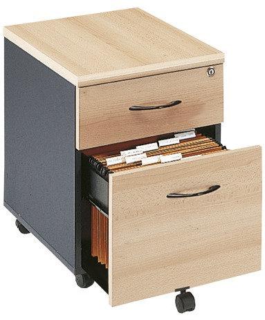 Caisson mobile 2 tiroirs dont 1DS HACIENDA