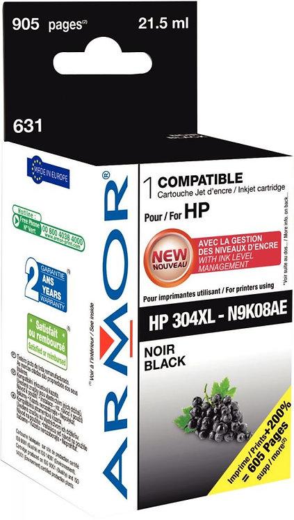 Cartouche d'encre compatible à la marque HP 304XL noir haute capacité