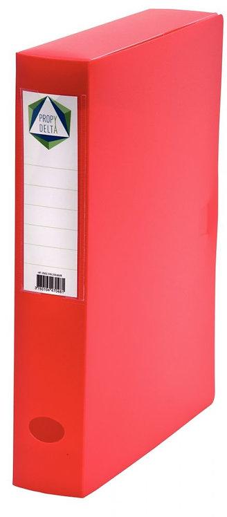 Boite de classement en polypropylène, dos 60 mm, coloris rouge
