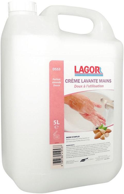 Bidon de 5 litres de crème lavante