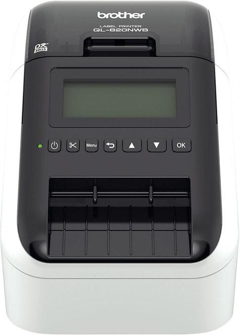 Imprimante d'étiquettes Brother QL-820 NWB