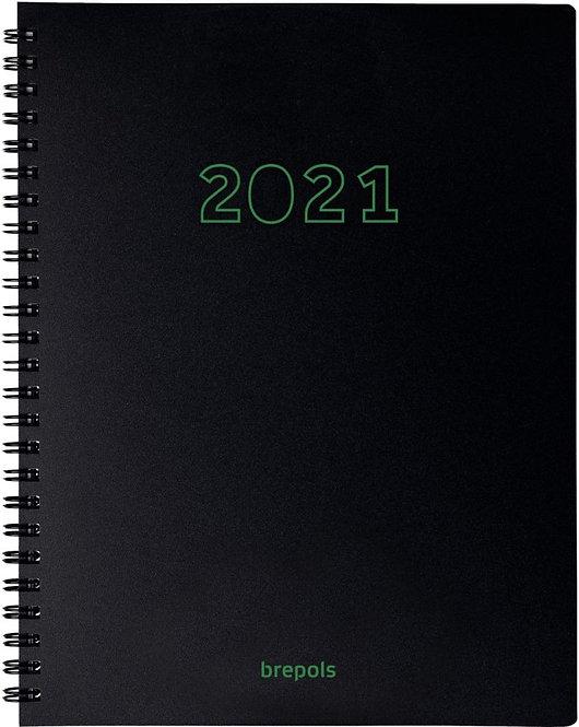 Agenda semainier ecotiming noir
