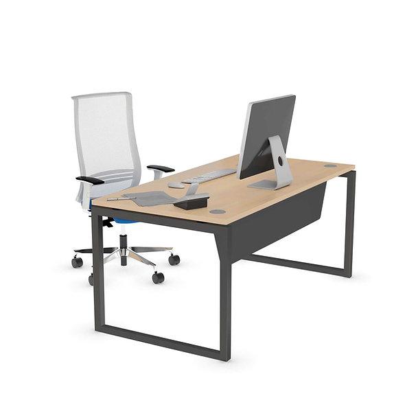 Table de bureau Challenge - Piétement Gris anthracite