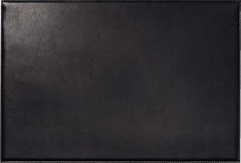 Sous-main en cuir 56x38cm noir