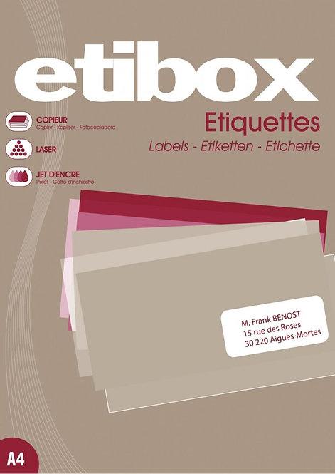 Boîte de 1 400 étiquettes adhésives multi-usage 105x39mm