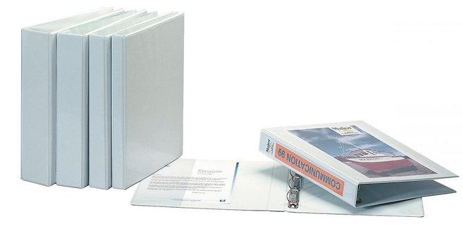 Classeur personnalisable format A4+ 4 anneaux diamètre 20 mm coloris blanc