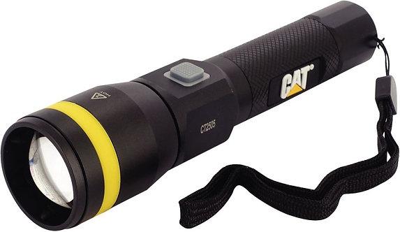 Lampe torche de poche à faisceaux réglable rechargeable 550 lumens CAT