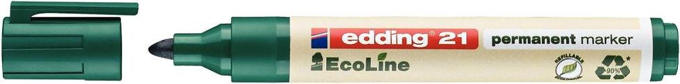 Marqueur permanent Ecoline ogive vert