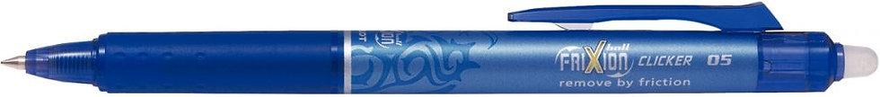 Roller Frixion Clicker pointe fine bleu