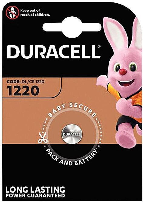 Blister de 1 Pile Lithium 3V CR1220 à la marque DURACELL