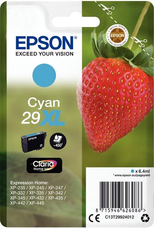 Cartouche jet d'encre à la marque Epson T299240 cyan haute capacité