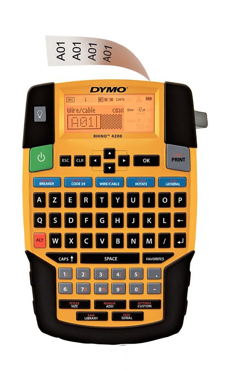 Titreuse Dymo Rhino 4200