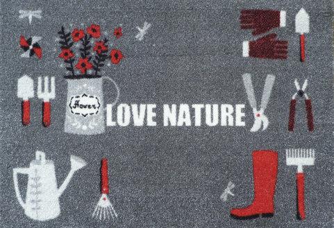 Tapis de sol absorbant LOVE NATURE
