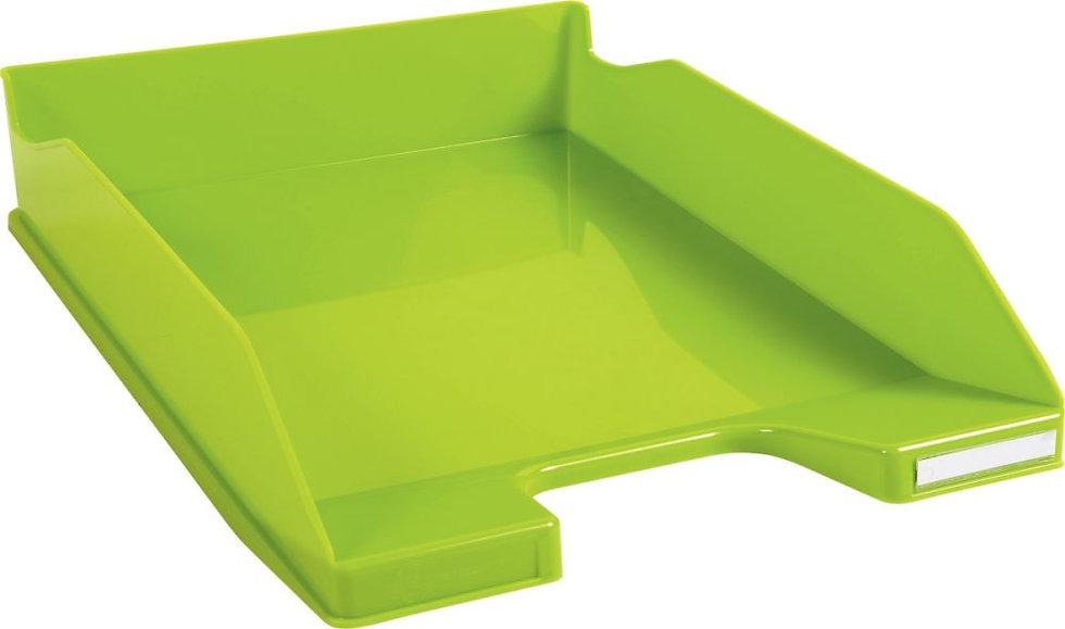 Corbeille à courrier A4+ vert anis gloss