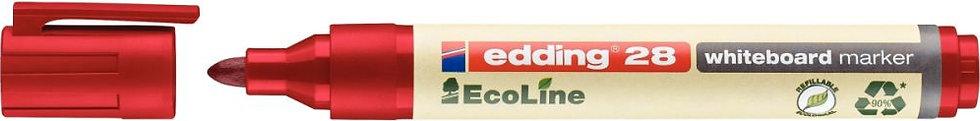 Marqueur tableau blanc ogive Ecoline 28 rouge