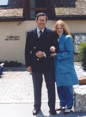 Leroy Hoffberger and Rebecca