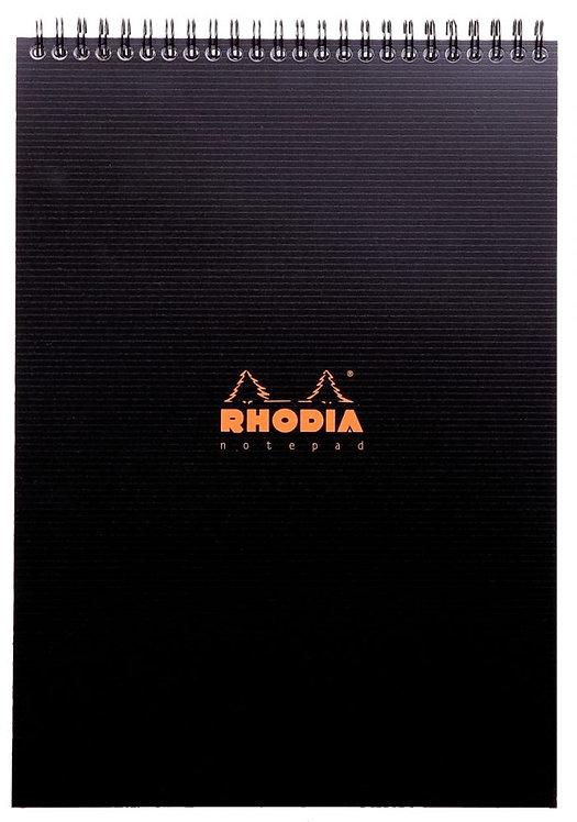 Bloc Notepad RHODIACTIVE  reliure intégrale 80 feuilles microperforées A4