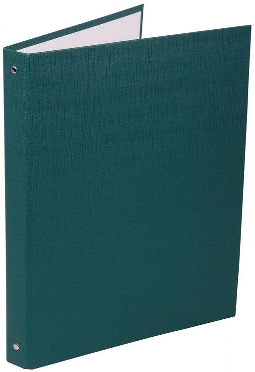 Classeur plastifié 4 anneaux dos 20 mm coloris vert