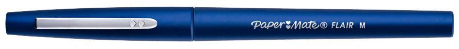 Stylo feutre nylon Flair bleu