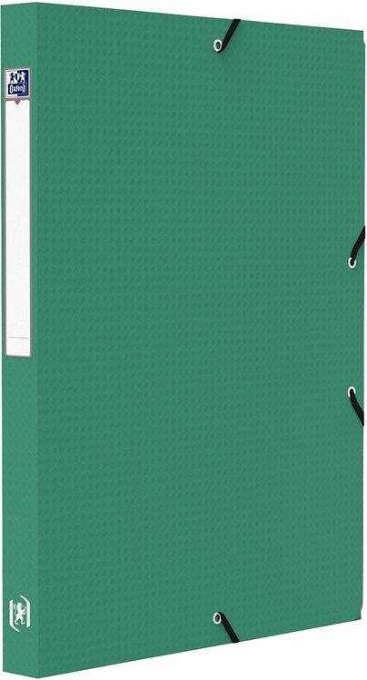 Boite de classement MEMPHIS en polypropylène, dos de 25 mm, coloris vert