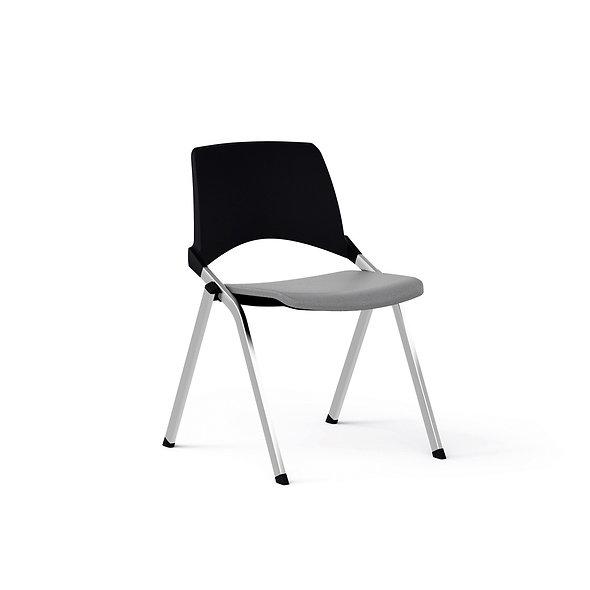 Chaise EMILE avec placet tissu