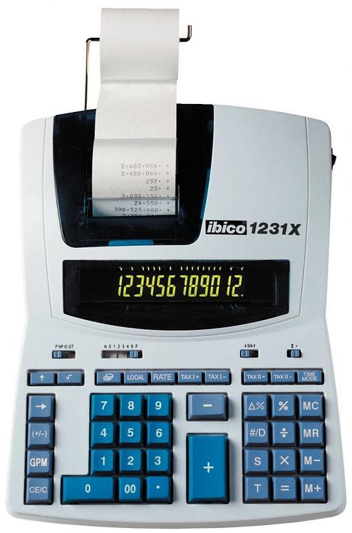 Machine à calculer imprimante professionnelle de bureau Ibico 1231X
