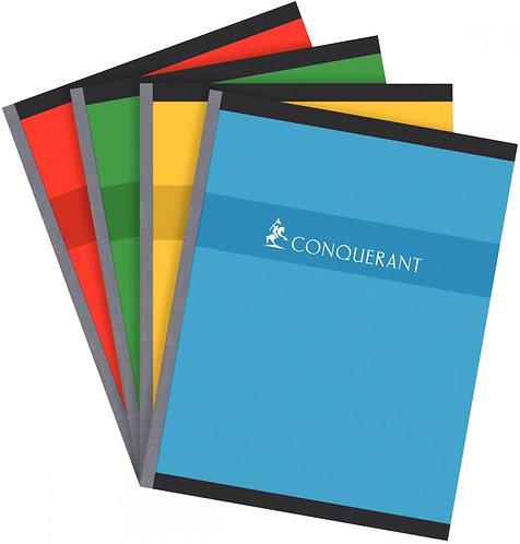 Cahier brochure normalisé 192 pages réglure 5x5 papier 70g coloris assortis