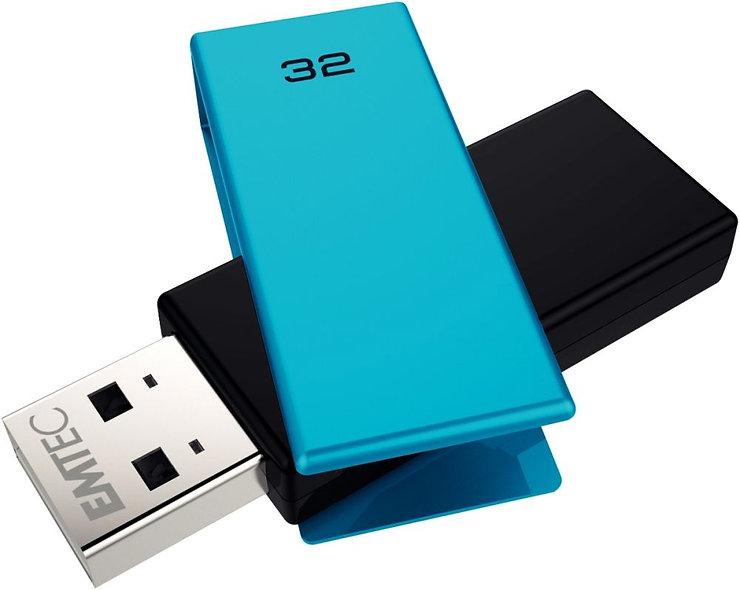 Clé USB Emtec Brick 2.0 C350 32 go bleu