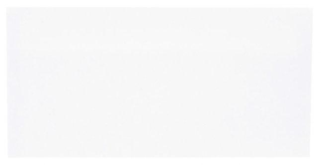 Boîte 500 enveloppes blanches DL 110x220 80g/m² autocollantes