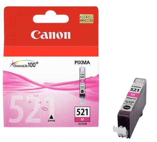 Cartouche jet d'encre à la marque Canon CLI-521 magenta