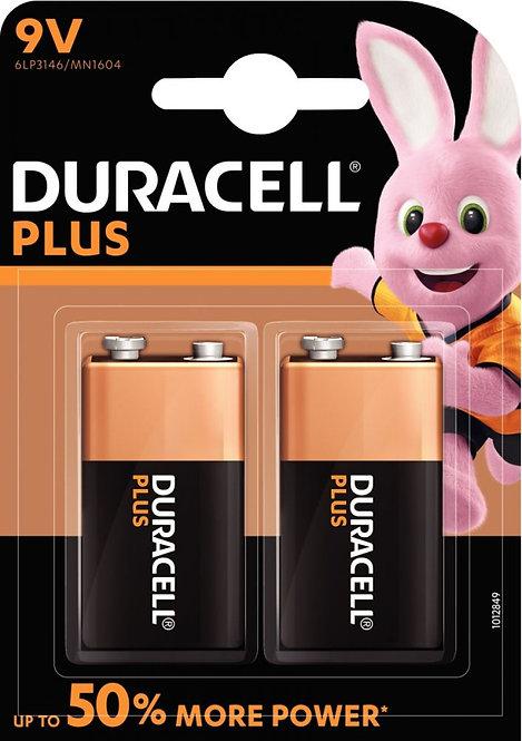 Blister de 2 piles 9V PLUS POWER 6LR61