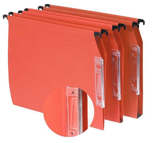 Paquet de 25 dossiers suspendus pour armoires, fond 30 mm