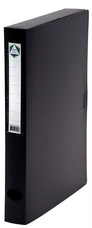 Boite de classement en polypropylène, dos 40 mm, coloris noir