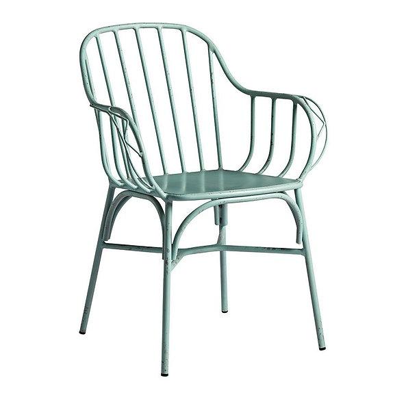 Lot de 4 fauteuils aluminium SANDY