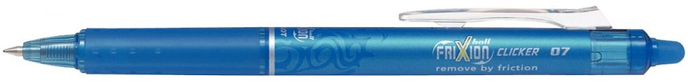 Roller effaçable Frixion Clicker rétractable turquoise