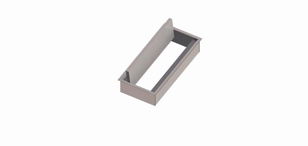 Trappe access aluminium - Ouverture 1 côté