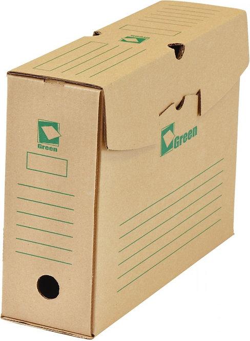 Paquet de 25 boîtes archives 34x25 dos de 10 GREEN