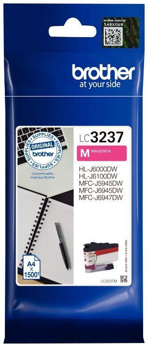 Cartouche d'encre Brother LC3237M magenta haute capacité à la marque