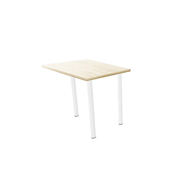 Retour pour table de bureau Sumsum - Piétement Blanc