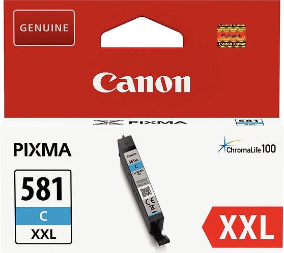 Cartouche d'encre à la marque CANON CLI581XXLC cyan très haute capacié