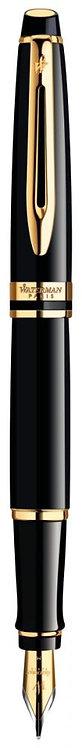 Stylo plume Expert laqué noir GT